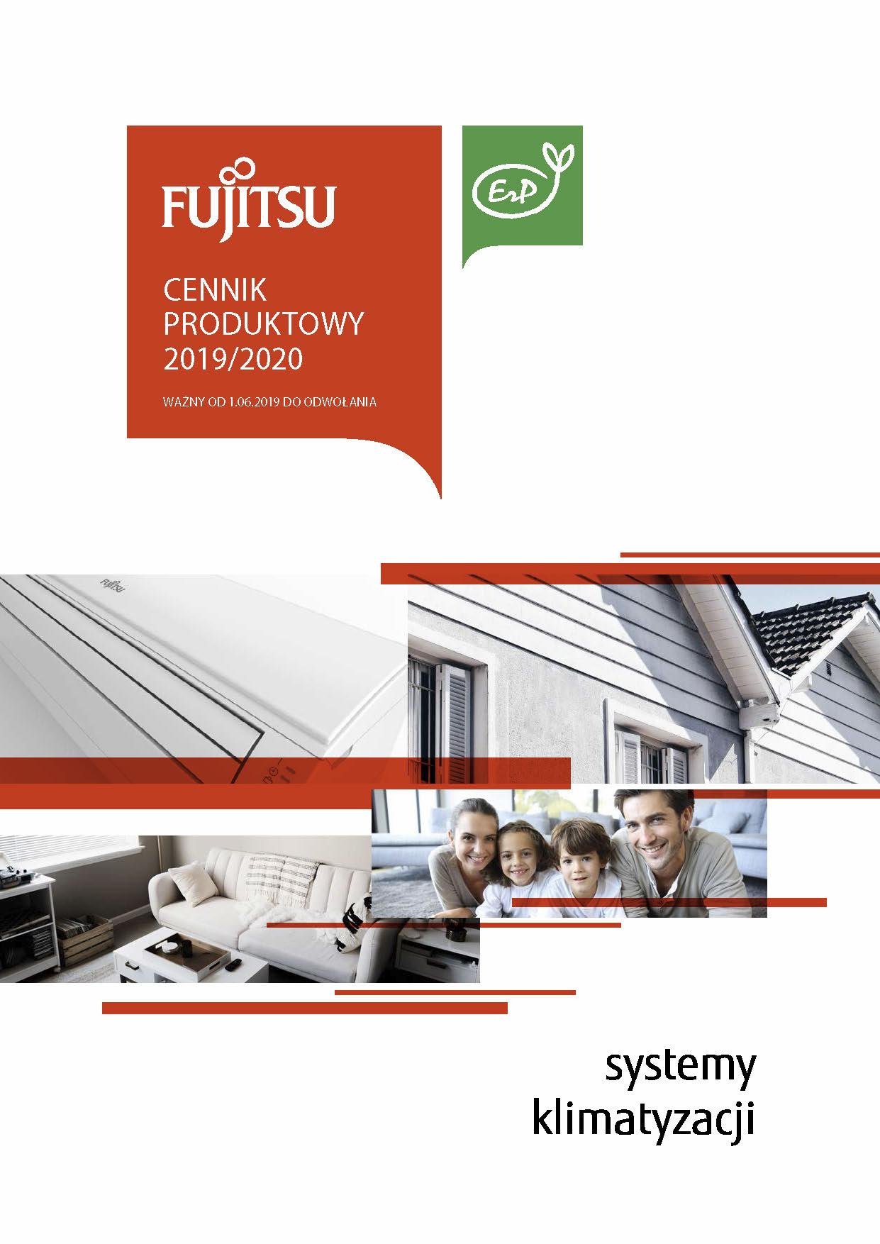 Najnowszy cennik FUJITSU 2019 2020